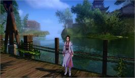 In game image of Age of Wushu KungFu Master Edition on the Valve Steam.