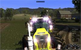 In game image of Agricultural Simulator 2011: Extended Edition on the Valve Steam.