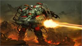 In game image of AirMech on the Valve Steam.