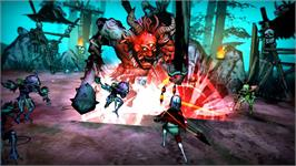 In game image of Akaneiro: Demon Hunters on the Valve Steam.