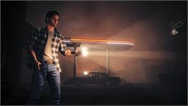 In game image of Alan Wake's American Nightmare on the Valve Steam.