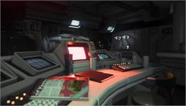 In game image of Alien: Isolation on the Valve Steam.