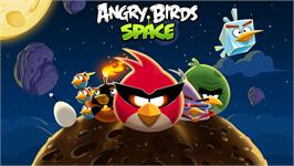 In game image of Angry Birds Space on the Valve Steam.