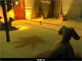 In game image of Ankh 2: Heart of Osiris on the Valve Steam.