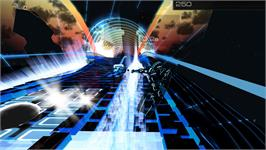 In game image of Audiosurf 2 on the Valve Steam.