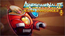 In game image of Awesomenauts - SUSI Announcer on the Valve Steam.