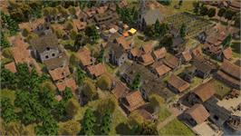 In game image of Banished on the Valve Steam.