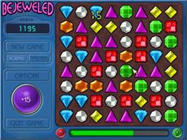 In game image of Bejeweled Deluxe on the Valve Steam.