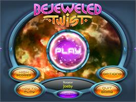 In game image of Bejeweled Twist on the Valve Steam.