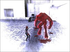 In game image of BloodRayne 2 on the Valve Steam.
