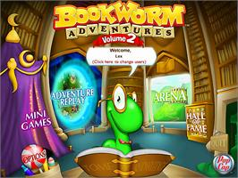 In game image of Bookworm Adventures Volume 2 on the Valve Steam.