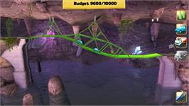 In game image of Bridge Constructor on the Valve Steam.