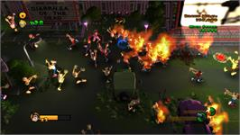 In game image of Burn Zombie Burn! on the Valve Steam.