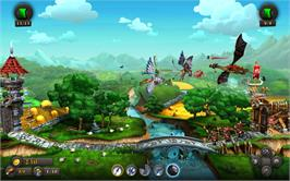 In game image of CastleStorm on the Valve Steam.