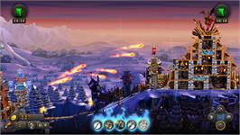 In game image of CastleStorm - The Warrior Queen on the Valve Steam.