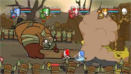 In game image of Castle Crashers on the Valve Steam.