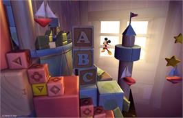 In game image of Castle of Illusion on the Valve Steam.