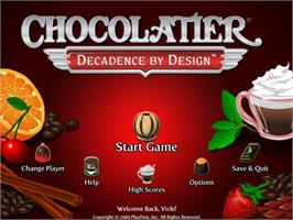 In game image of Chocolatier®: Decadence by Design on the Valve Steam.