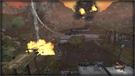 In game image of Choplifter HD on the Valve Steam.