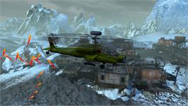 In game image of Choplifter HD - Arrowhead Chopper on the Valve Steam.