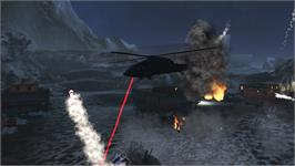 In game image of Choplifter HD - Night Avenger Chopper on the Valve Steam.