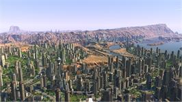 In game image of Cities XL Platinum on the Valve Steam.