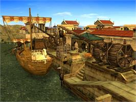 In game image of CivCity: Rome on the Valve Steam.