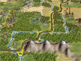 In game image of Civilization IV®: Warlords on the Valve Steam.