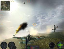 In game image of Combat Wings: Battle of Britain on the Valve Steam.