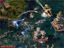 In game image of Command & Conquer: Red Alert 3 on the Valve Steam.