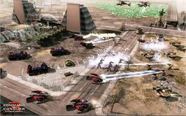 In game image of Command & Conquer 3: Kane's Wrath on the Valve Steam.