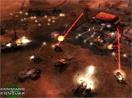 In game image of Command & Conquer 3: Tiberium Wars on the Valve Steam.