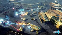 In game image of Command & Conquer 4: Tiberian Twilight on the Valve Steam.