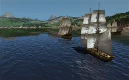 In game image of Commander: Conquest of the Americas - Colonial Navy on the Valve Steam.