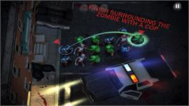 In game image of Containment: The Zombie Puzzler on the Valve Steam.