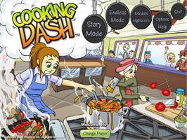 In game image of Cooking Dash® on the Valve Steam.