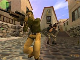 In game image of Counter-Strike on the Valve Steam.
