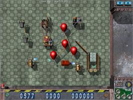 In game image of Crazy Machines on the Valve Steam.