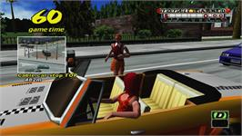 In game image of Crazy Taxi on the Valve Steam.