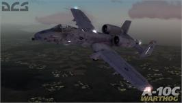 In game image of DCS A-10C Warthog on the Valve Steam.