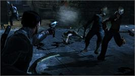 In game image of Dark Sector on the Valve Steam.