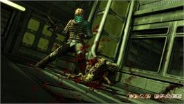 In game image of Dead Space on the Valve Steam.