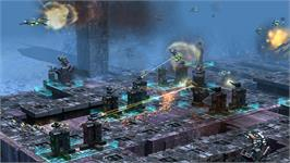 In game image of Defense Grid: Resurgence Map Pack 3 on the Valve Steam.