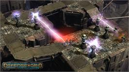 In game image of Defense Grid: The Awakening on the Valve Steam.