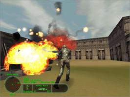 In game image of Delta Force Land Warrior on the Valve Steam.