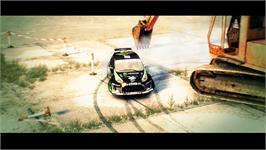 In game image of DiRT 3 on the Valve Steam.