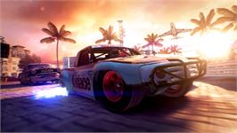 In game image of DiRT Showdown on the Valve Steam.
