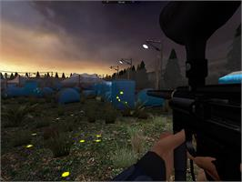 In game image of Digital Paintball on the Valve Steam.