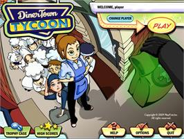 In game image of DinerTown Tycoon on the Valve Steam.