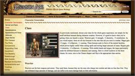 In game image of Dragon Age: Origins Prima Official Strategy Guide on the Valve Steam.